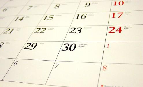 Niniejszy kalendarz zawiera wydarzenia, które wkrótce będą miały miejsce wnaszym Domu Rekolekcyjnym. Nie wszystkie wydarzenia zostały ujęte. Zapraszamy do zapoznania się zwszystkimi terminami rekolekcji, skupień, spotkań, które będą miały miejsce […]