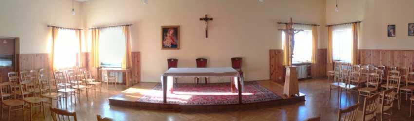 Aula w domu św. Franciszka Ksawerego
