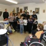 Kolędowanie w Hospicjum w Łaźniewie