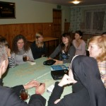 Po wspólnotowym rozważaniu Pisma św. czas na herbatkę