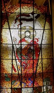 witrarz w Sanktuarium Bożego miłosierdzia