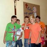 grupa chłopców