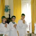 ministranci na rekolekcjach dzieci