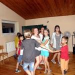 wspólne tańce na rekolekcjach