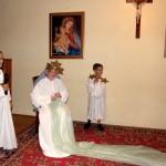 zwiastowanie Maryi - przedstawienie