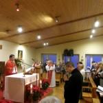 Wprowadzenie relikwii podczas Eucharystii