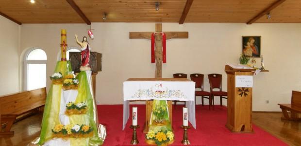 Niech wydarzenia paschalne i spotkanie ze zmartwychwstałym Jezusem, w tym szczególnym Roku Wiary umocnią nasza wiarę, nadzieję i miłość.
