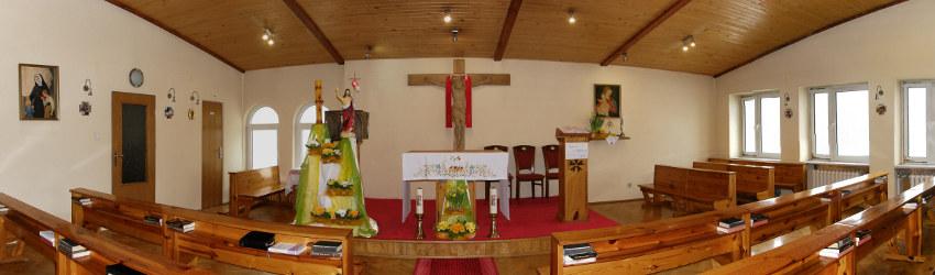 Kaplica w Domu Rekolekcyjnym - okres Wielkanocny