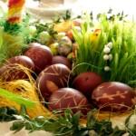 koszyczek wielkanocny - dekoracja