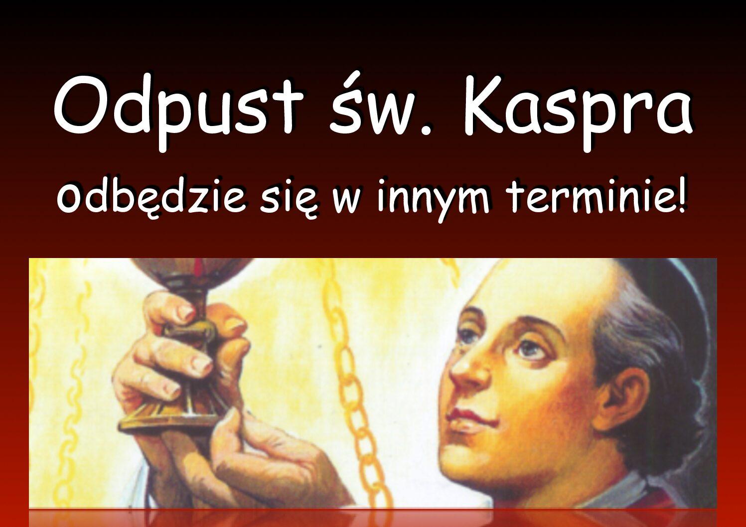 W związku zaktualną sytuacją epidemiczną zdecydowaliśmy się przenieść obchody odpustu św. Kaspra na inny termin, októrym wstosownym czasie poinformujemy. Wspólnota Domu św. Franciszka Ksawerego wOżarowie Maz. Podobne strony: Odpust św. […]